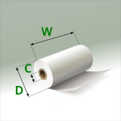 2 1/4 in x 30 ft Mini Eco-Core (100) Rolls
